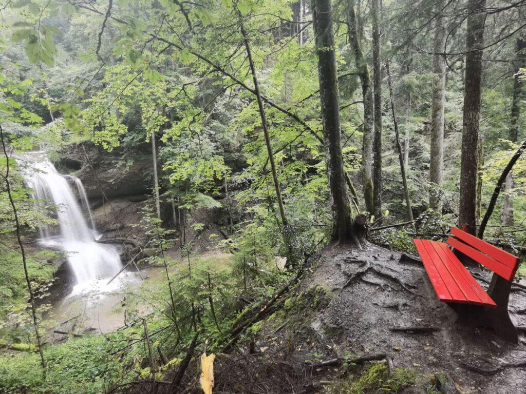 Hasenreuter Wasserfälle - die kostenlose Alternative zu den Scheidegger Wasserfällen